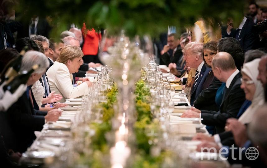 Торжественная встреча лидеров на G 20 в Аргентине. Фото Getty