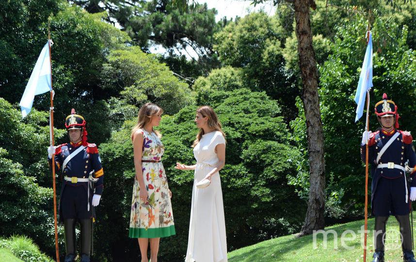 Хулиана Авада и Мелания Трамп, фотоархив. Фото Getty