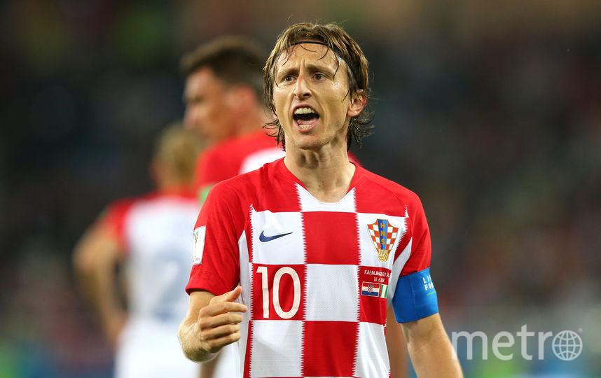 Хорватский футболист Лука Модрич. Фото Getty