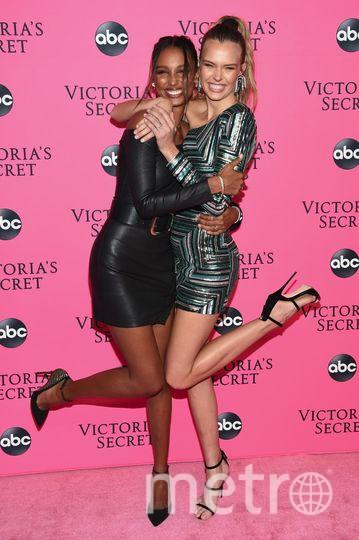 Ангелы Victoria's Secret. Жасмин Тукс и Жозефин Скивер. Фото Getty