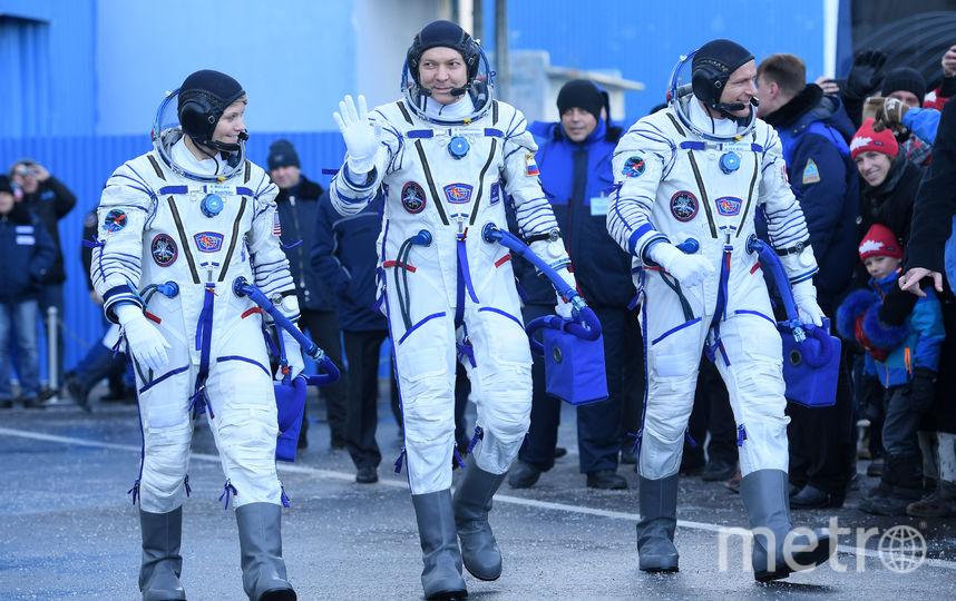 Космонавты готовы к экспедиции. Фото AFP