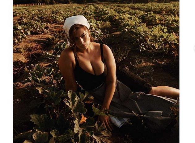 Эшли Грэм, фотоархив. Фото скриншот www.instagram.com/ashleygraham/