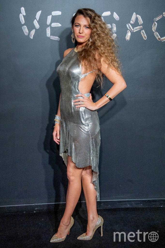Блейк Лайвли на шоу Versace. Фото Getty