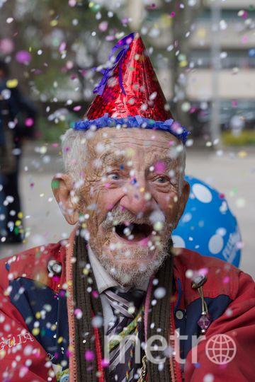 Дон Анибаль отмечает 90-летие. Фото: Даниэль Венегас. Фото www.metrophotochallenge.com