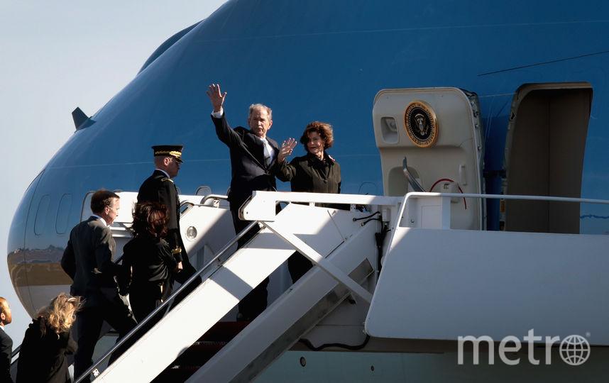 Гроб с телом президента доставили в Вашингтон из Хьюстона. Фото Getty