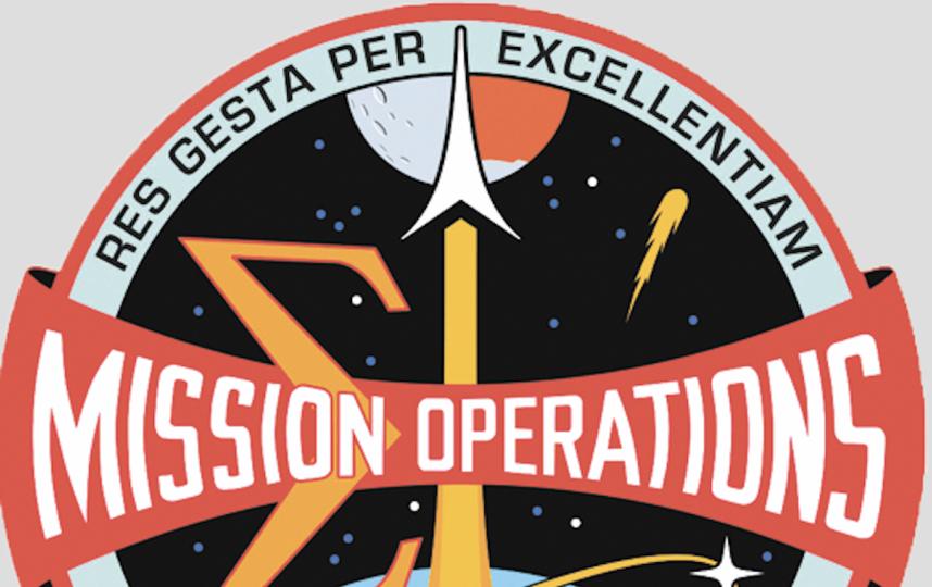Эмблема набора NASA. Фото предоставил Глушко