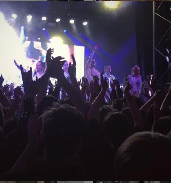 Линдеманн устроил эпатажное шоу в Петербурге.