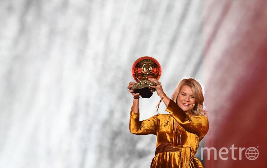 """Ада Хегерберг стала обладательницей """"Золотого мяча"""". Фото AFP"""