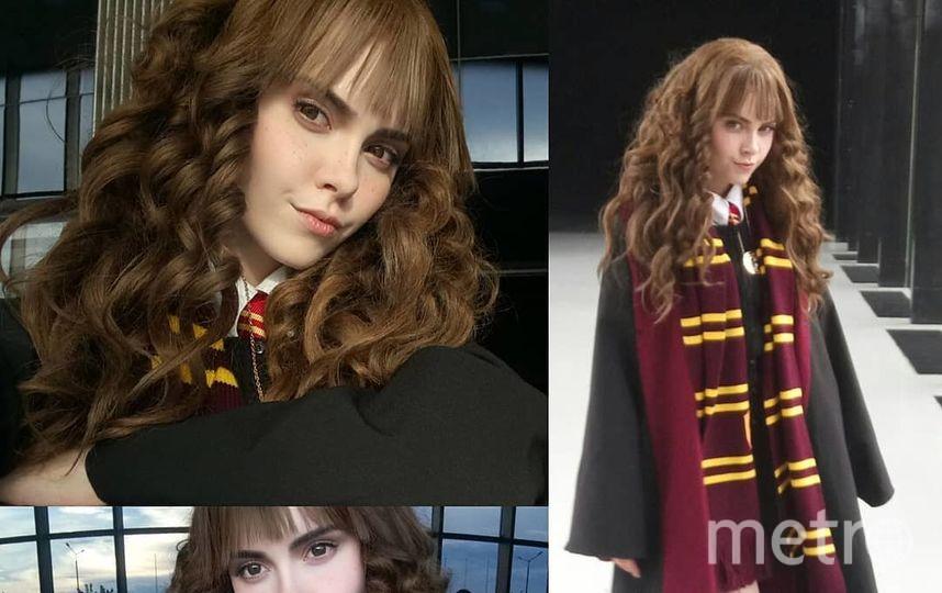 """Образ Гермионы из """"Гарри Поттера"""". Фото Скриншот Instagram/sladkoslava"""