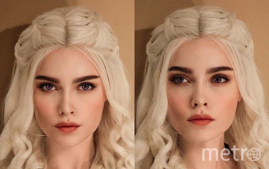 Образ матери драконов Дейнерис. Фото Скриншот Instagram/sladkoslava