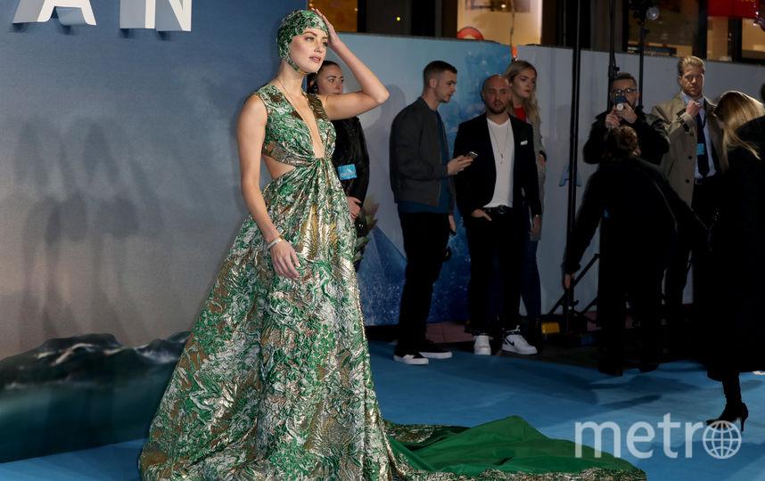 "Эмбер Хёрд на премьере ""Аквамена"". Фото Getty"