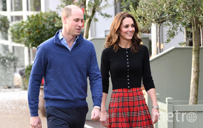 Пара отправилась на вечеринку в честь ВВС Британии. Фото Getty