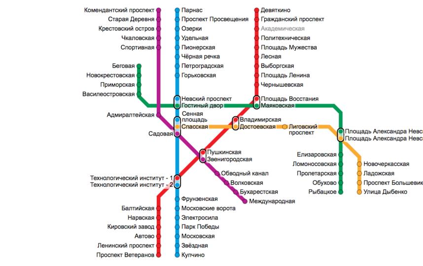 Открытие трех новых станций метро Петербурга перенесли на май. Фото http://www.metro.spb.ru/