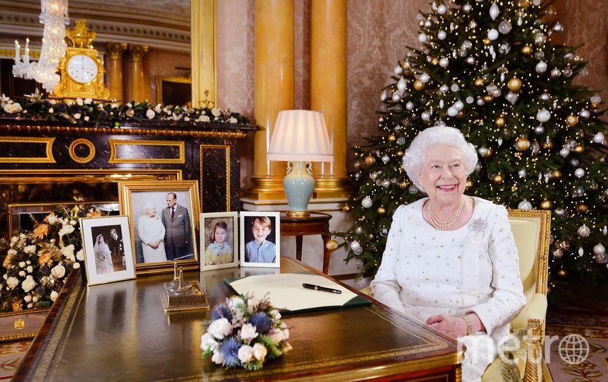 Рождественское обращение к британцам 25 декабря 2017 года. Фото Getty