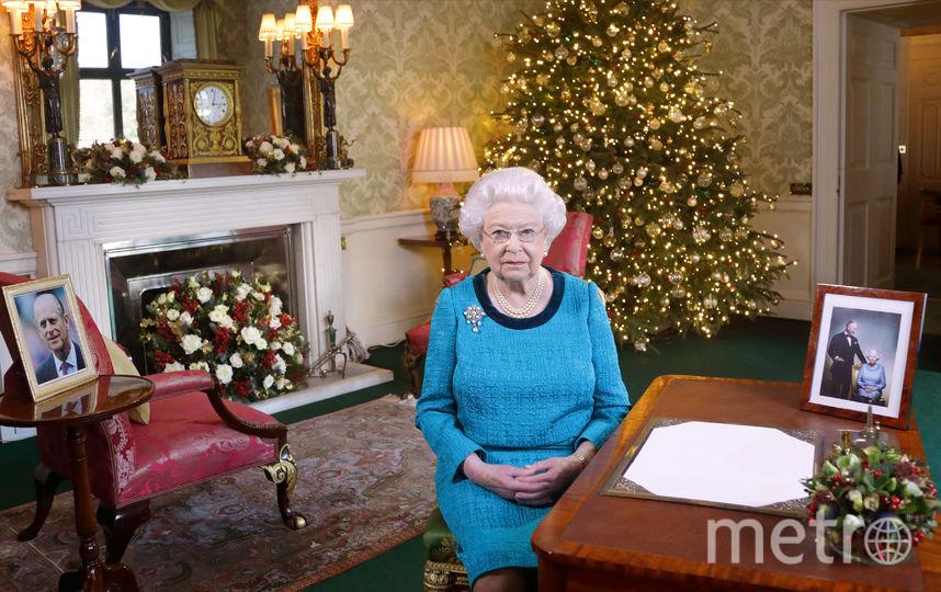 Рождественское обращение к британцам 25 декабря 2016 года. Фото Getty