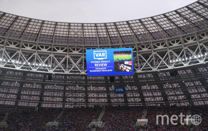 Система VAR доказала свою эффективность на чемпионате мира 2018 года в России. Фото Getty