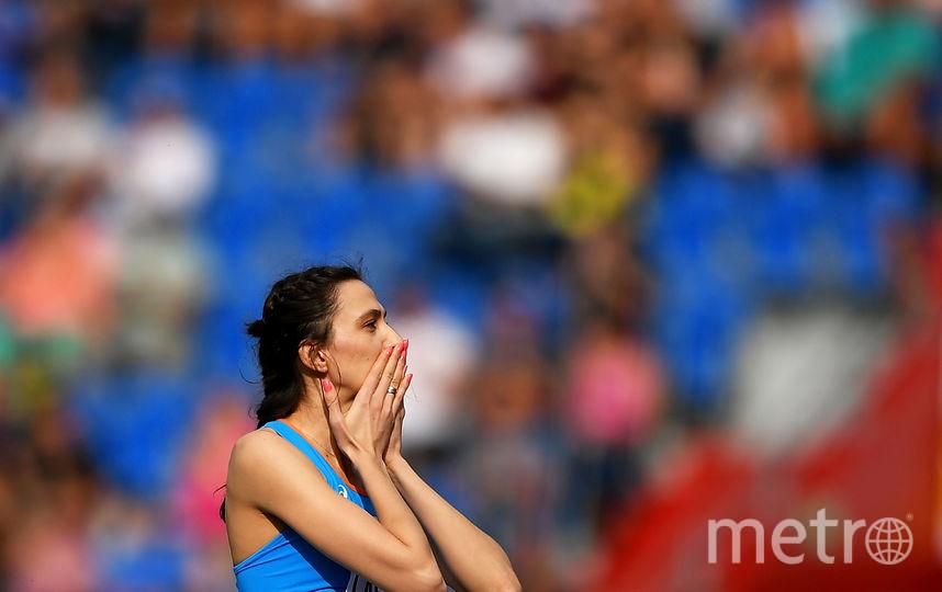 Прыгунья в высоту Мария Ласицкене выходит в элиту мирового спорта, но вынуждена выступать в статусе нейтрального спортсмена.Прыгунья в высоту Мария Ласицкене выходит в элиту мирового спорта, но вынуждена выступать в статусе нейтрального спортсмена. Фото Getty
