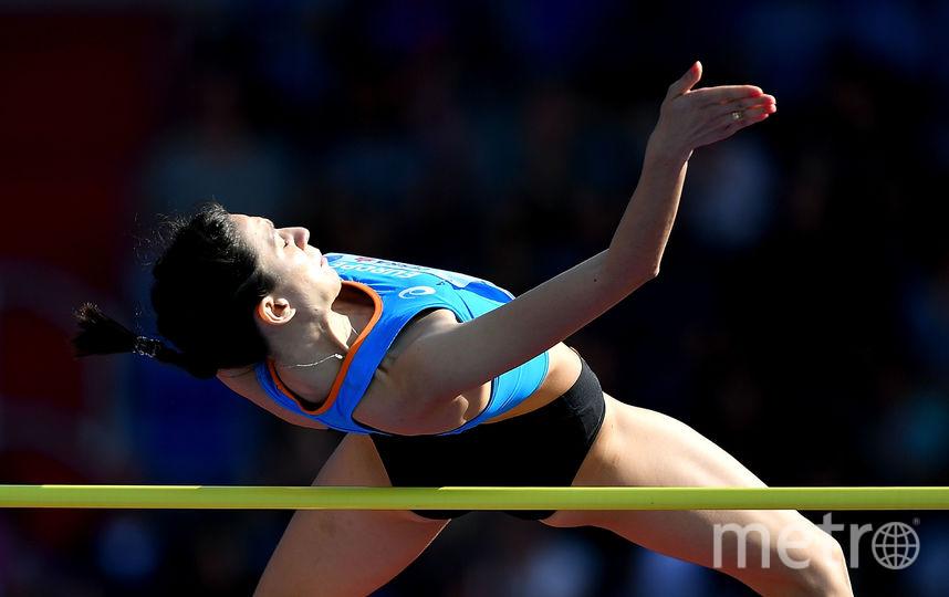 Прыгунья в высоту Мария Ласицкене выходит в элиту мирового спорта, но вынуждена выступать в статусе нейтрального спортсмена. Фото Getty