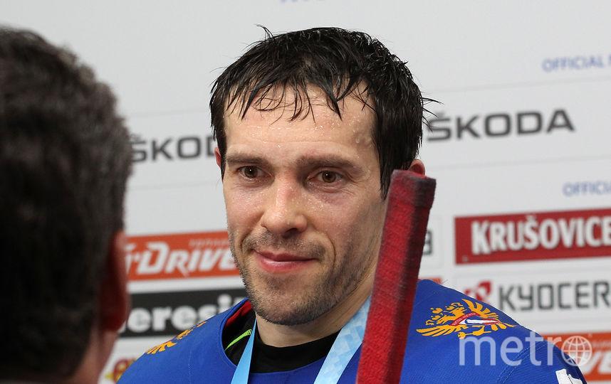 Павел Дацюк вернулся в состав сборной. Фото Getty