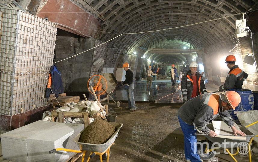 Станции Фрунзенского радиуса откроют только в мае. Фото Picvario, Интерпресс