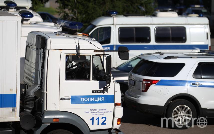 """Полиция в Москве опровергла введение плана """"Сирена"""" из-за сбежавшего с автоматом охранника. Фото Василий Кузьмичёнок"""