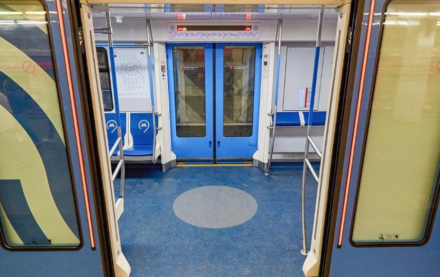 """поезд """"Москва"""". Фото mos.ru"""