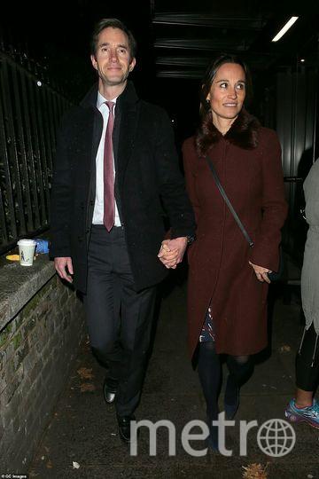 Пиппа Миддлтон с мужем. Фото https://www.instagram.com/p/Bq_u2PrlilT/