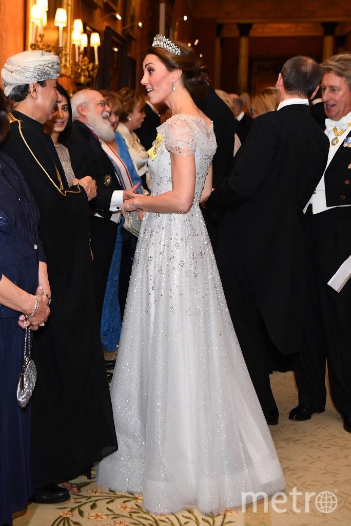 Кейт Миддлтон с гостями вечера. Фото Getty
