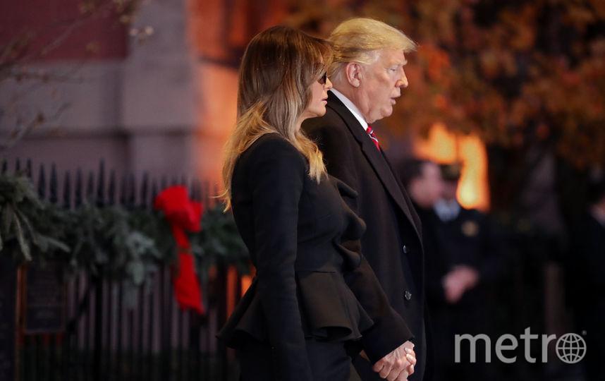 Встреча Трампов и Бушей. Фото Getty