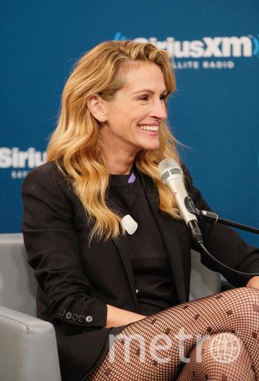 Джулия Робертс на интервью SiriusXM. Фото Getty