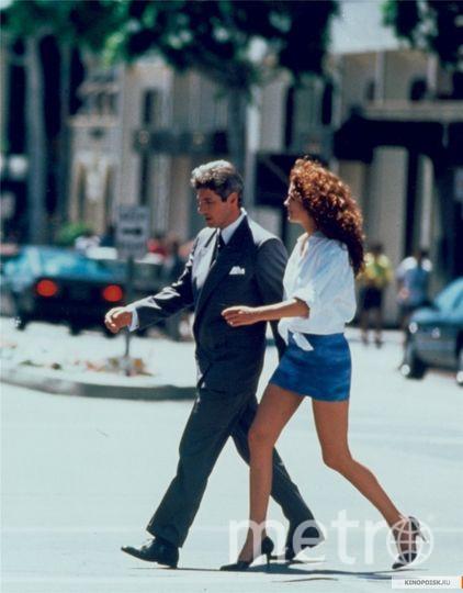"Джулия Робертс 30 лет назад - кадры из фильма ""Красотка"". Фото kinopoisk.ru"