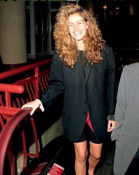 Джулия Робертс 30 лет назад - 1988 год. Фото Getty
