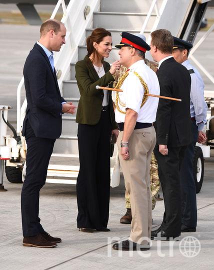Принц Уильям и Кейт Миддлтон на Кипре. Фото Getty