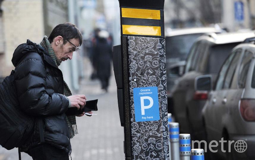 Москвич оплачивает парковку (архивное фото). Фото РИА Новости