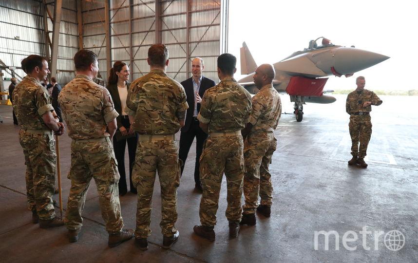 На веонной базе ВВС Великобритании на Кипре. Фото Getty