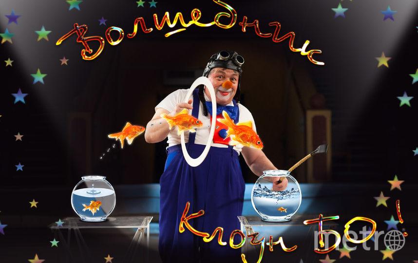 """Клоун БО!. Фото Цирк на Фонтанке, """"Metro"""""""