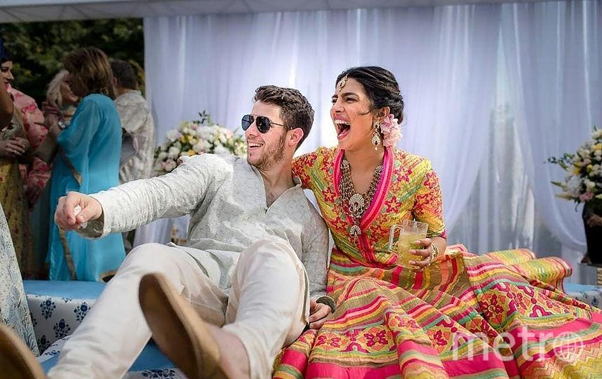 Свадьба Приянки Чопры и Ника Джонаса. Фото AFP
