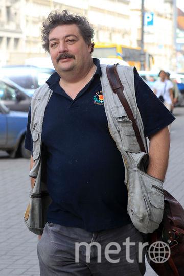 Дмитрий Быков. Фото Петр Ковалев, Интерпресс