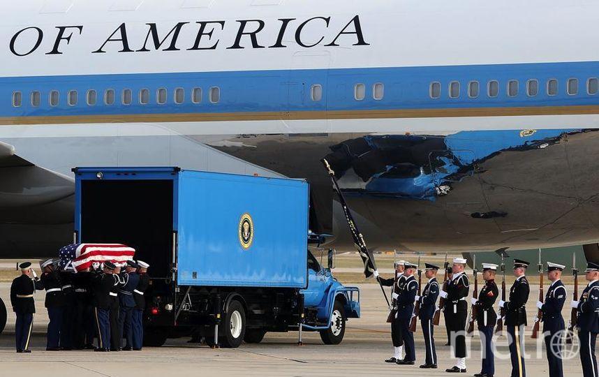 Гроб с телом президента доставили в Хьюстон. Фото Getty