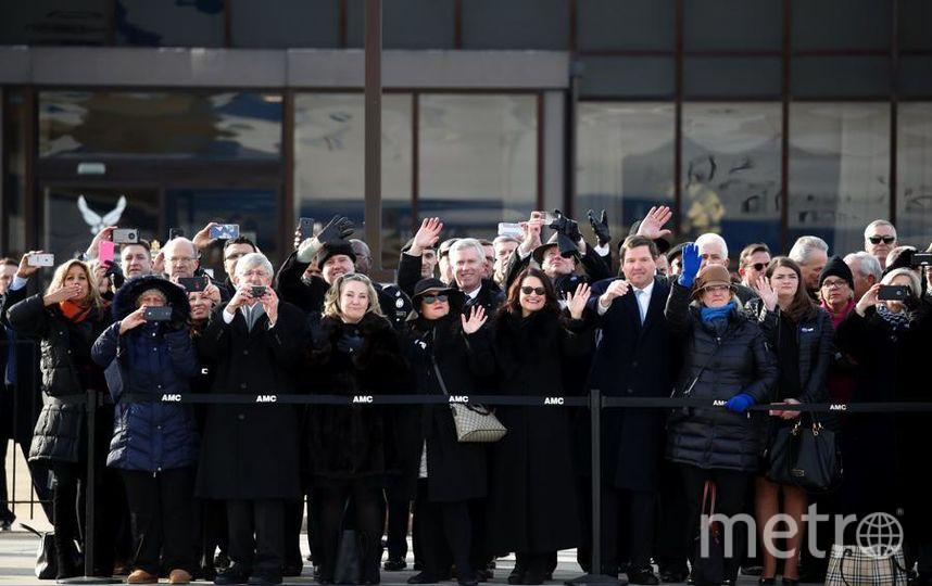 Гроб с телом президента доставили в Хьюстон. Провожали гроб с телом экс-президента бывшие коллеги Буша по Белому дому. Фото Getty