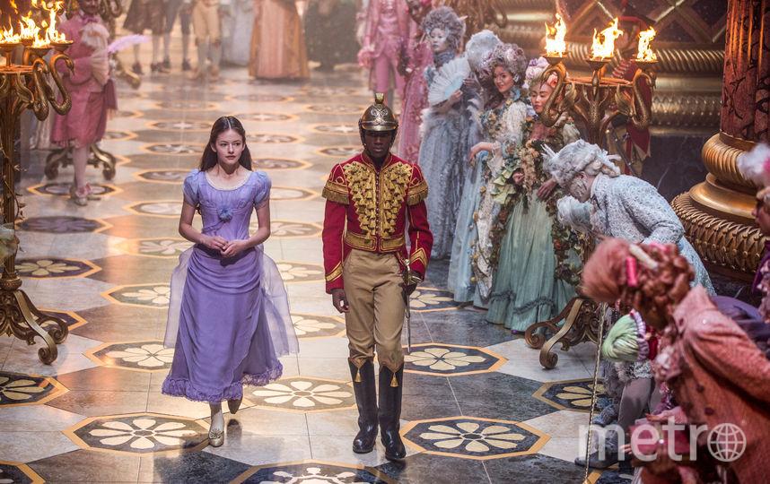 """8 декабря выйдет картина """"Щелкунчик и четыре королевства"""". Фото WDSSPR"""
