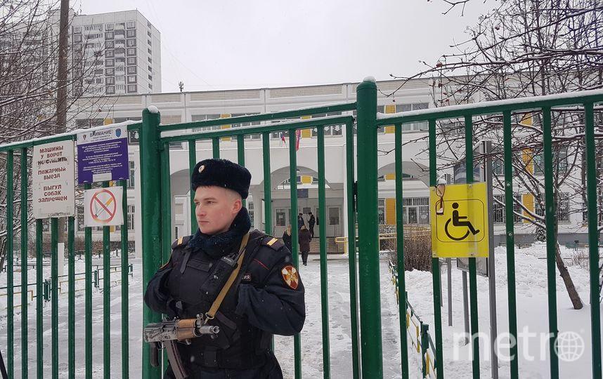 Полицейский на месте происшествия. Фото Василий Кузьмичёнок