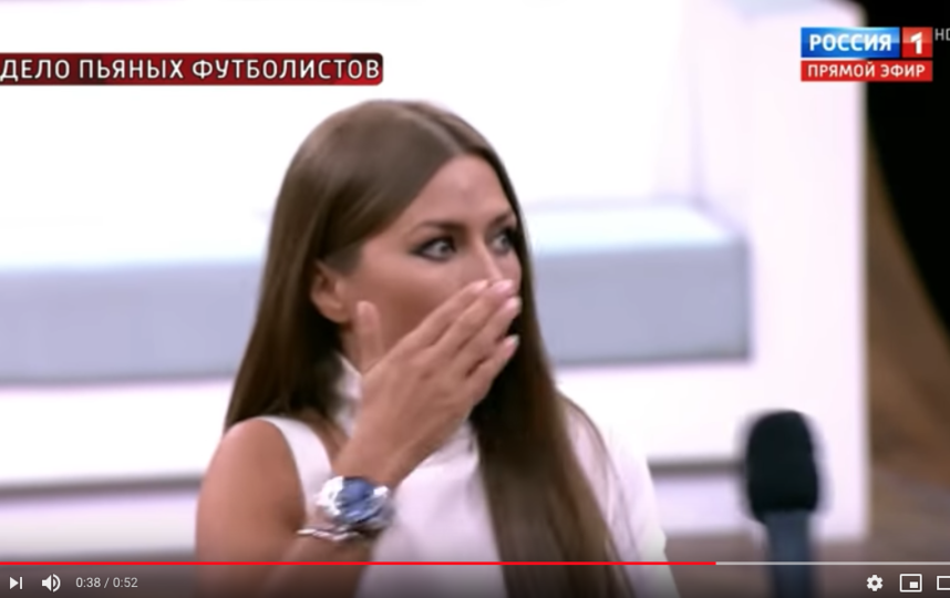 Виктория Боня на эфире у Малахова. Фото скриншот https://www.youtube.com/watch?v=FAK_JPeO_lU