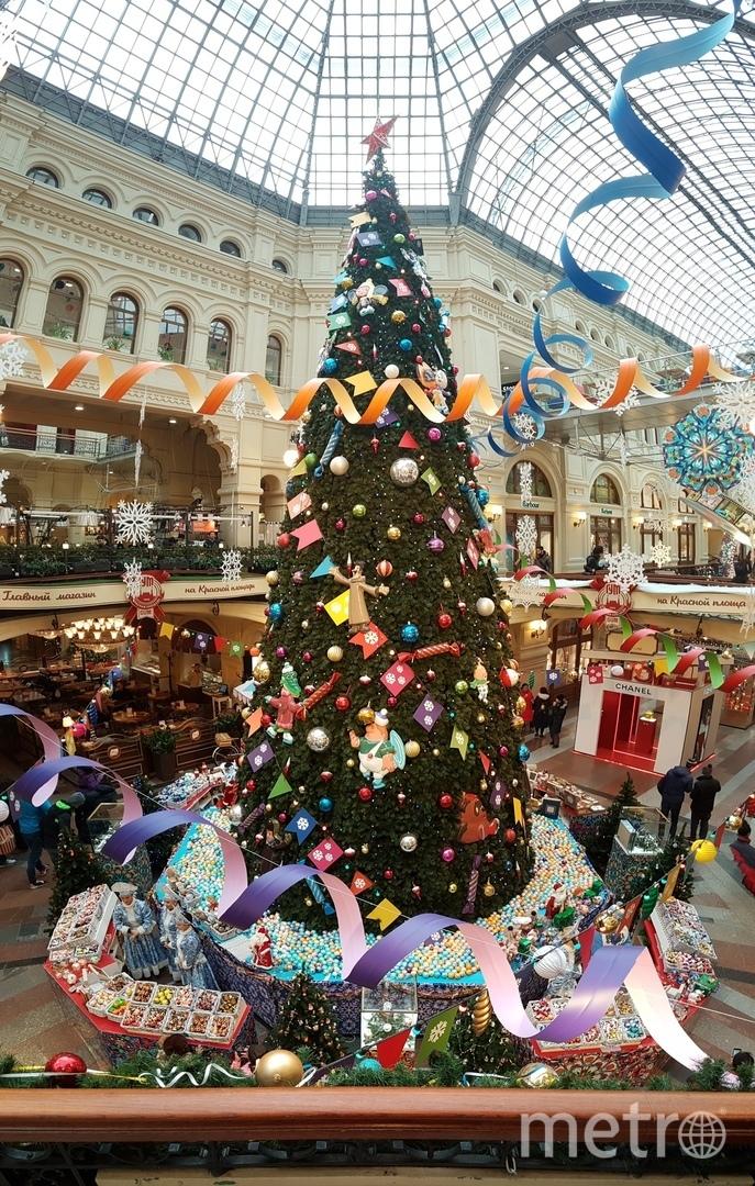 Фонтан вновь стал новогодним. Фото Василий Кузьмичёнок