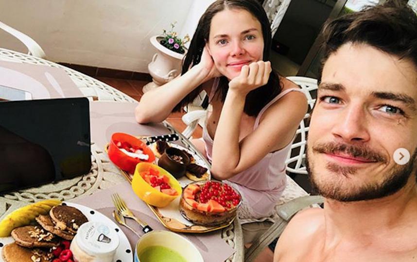 Елизавета Боярская и Максим Матвеев. Фото Скриншот https://www.instagram.com/maxim_matveev_/