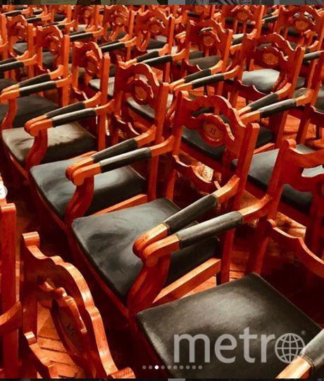 "Путина снимали на телефон. Фото https://www.instagram.com/egor.stotskiy/, ""Metro"""