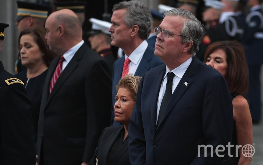 Похороны Джорджа Буша в Техасе. Фото Getty