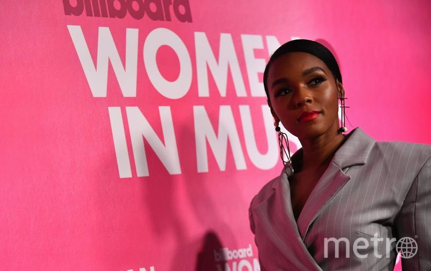 Вечеринка Billboard's Women in Music. Жанель Монэ. Фото Getty