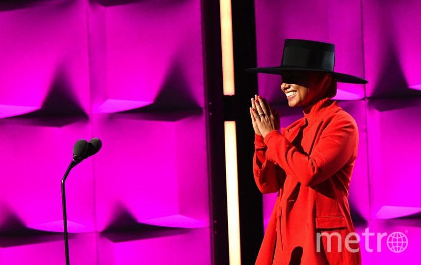 Вечеринка Billboard's Women in Music. Алиша Киз. Фото Getty