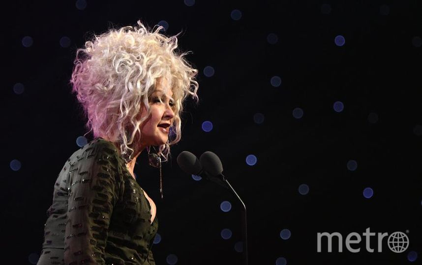 Вечеринка Billboard's Women in Music. Синди Лопер. Фото Getty